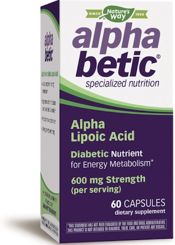 Image of alpha betic Alpha Lipoic Acid 200 mg