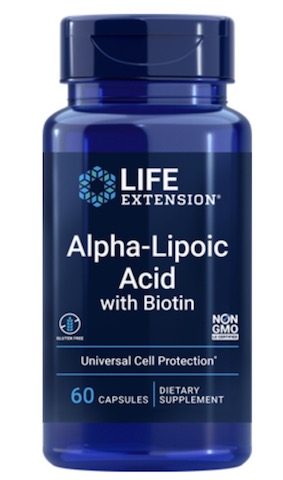 Image of Alpha Lipoic Acid with Biotin 250 mg/2500 mcg