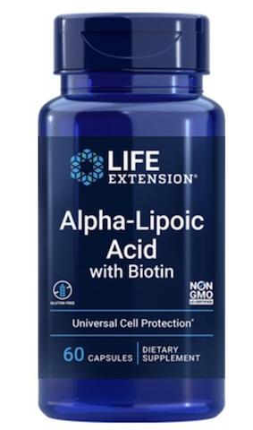 Image of Alpha Lipoic Acid with Biotin 250 mg/2500 mcg