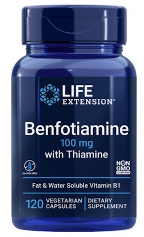 Image of Benfotiamine with Thiamine 100/25 mg