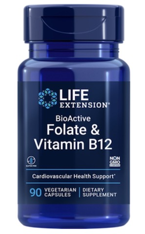 Image of BioActive Folate & Vitamin B12 400/300 mcg