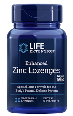 Image of Enhanced Zinc Lozenges (Peppermint)