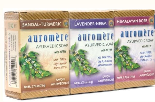 Image of Ayurvedic Bar Soap Variety Pack