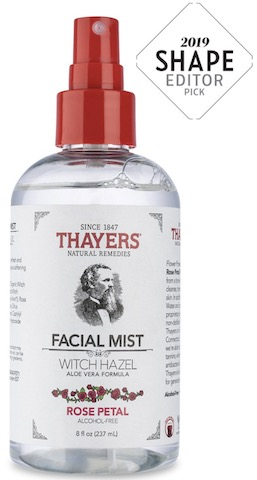 Image of Witch Hazel Facial Mist Alcohol-Free Rose Petal