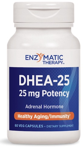 Image of DHEA 25 mg Pharmaceutical Grade
