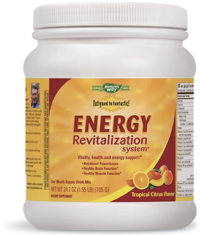 Image of Fatigued to Fantastic! Energy Revitalization System Powder Tropical Citrus