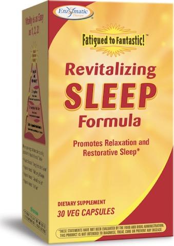 Image of Fatigued to Fantastic! Revitalizing Sleep Formula