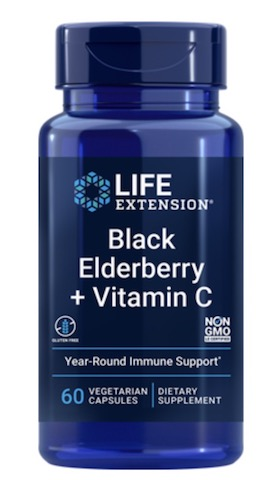 Image of Black Elderberry + Vitamin C 360/100 mg