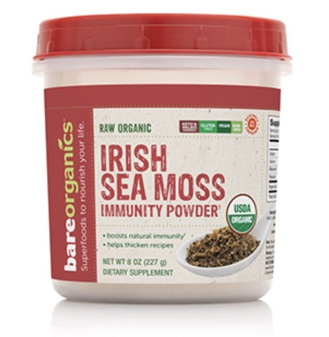Image of Irish Sea Moss Immunity Powder (Raw Organic)