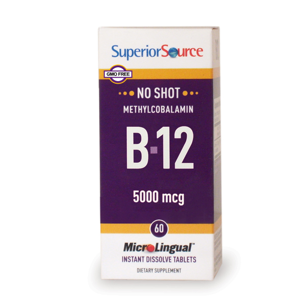 Image of No Shot B12 Methycobalamin 5,000 mcg Sublingual