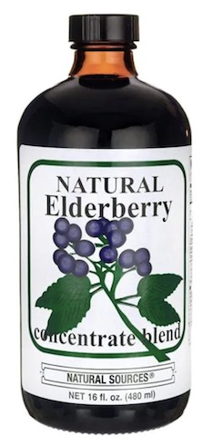 Image of Elderberry Concentrate Blend Liquid
