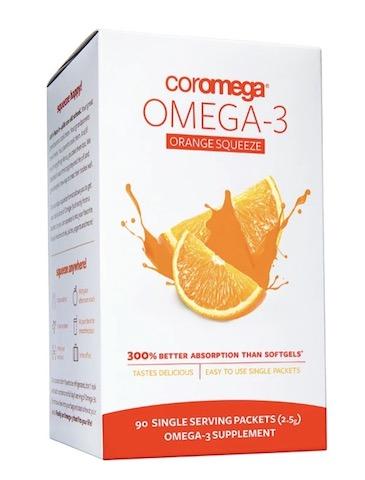 Image of Omega-3 2000 mg Packet Orange Squeeze