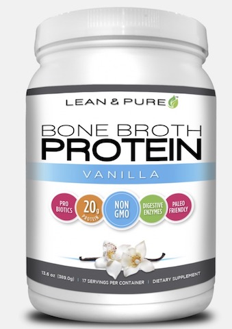Image of Bone Broth Protein Powder Vanilla