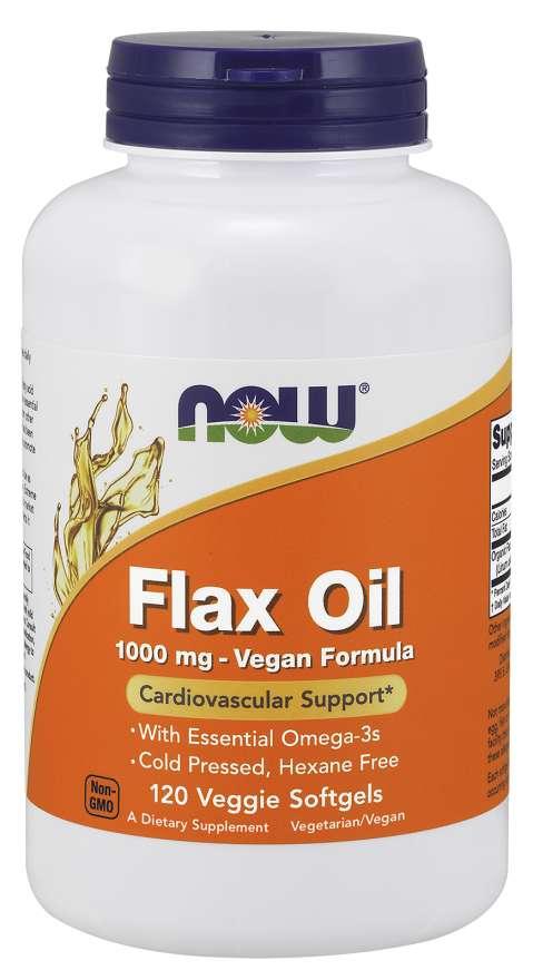 Image of Flax Oil 1000 mg Vegan Formula