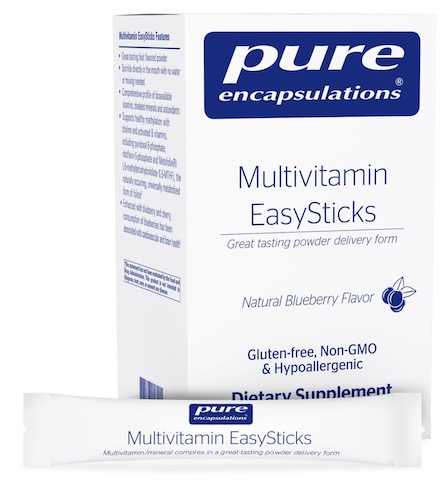 Image of Multivitamin EasySticks Powder Blueberry
