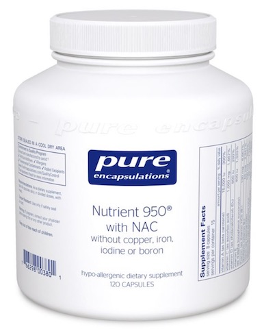 Image of Nutrient 950 with NAC
