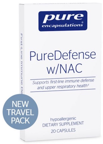 Image of PureDefense with NAC Travel Pack