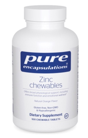 Image of Zinc Chewables 10 mg Orange