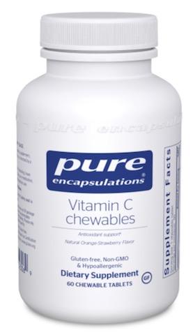 Image of Vitamin C Chewables 525 mg Orange