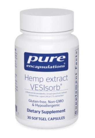 Image of Hemp extract VESIsorb 334 mg