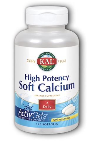 Image of High Potency Soft Calcium with Vitamin D 600 mg/200 IU