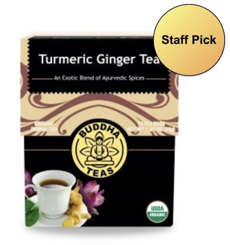 Image of Turmeric Ginger Tea Organic