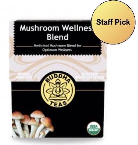 Image of Mushroom Wellness Blend Tea Organic