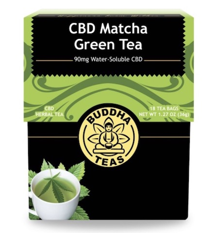 Image of CBD Matcha Green Tea