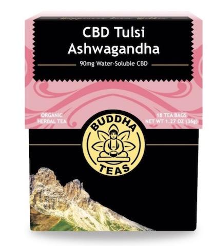 Image of CBD Tulsi Ashwagandha Tea