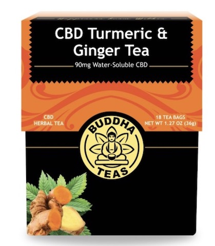 Image of CBD Turmeric & Ginger Tea