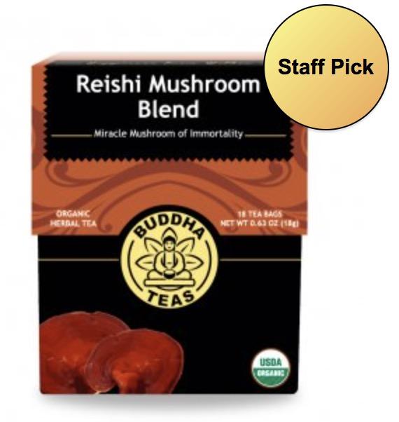 Image of Reishi Mushroom Blend Tea Organic
