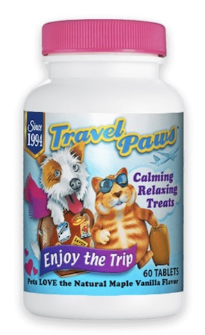 Image of Pet - Travel Paws (L-Tryptophan) Chewable