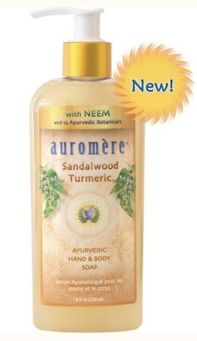Image of Liquid Soap Hand & Body Sandalwood-Turmeric