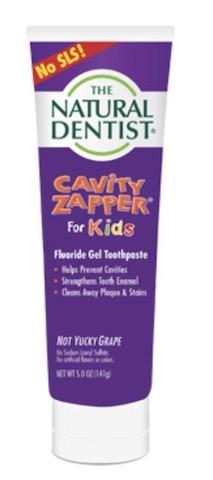 Image of Toothpaste Kids Cavity Zapper Gel Fluroide Grape