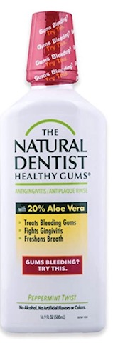 Image of Mouthwash Healthy Gums Antigingivitis Peppermint Twist