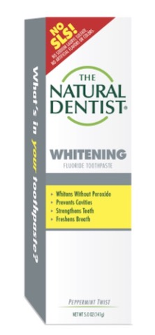 Image of Toothpaste Whitening Fluoride Peppermint Twist