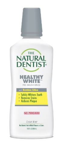 Image of Mouthwash Healthy White Pre-Brush Clean Mint