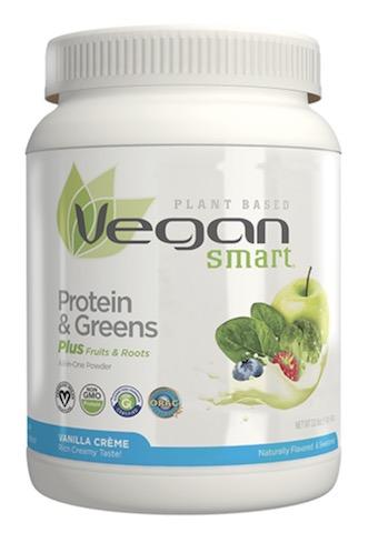 Image of Vegan Smart Proteins & Greens Powder Vanilla Creme