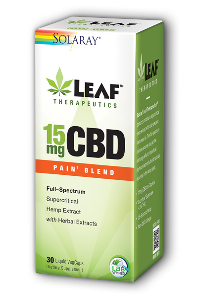 Image of Leaf Therapeutics CBD 15 mg Pain Blend