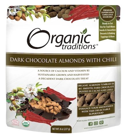 Image of Dark Chocolate Almonds with Chili