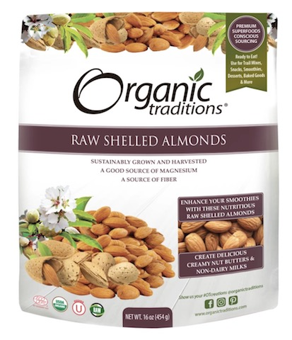 Image of Raw Shelled Almonds