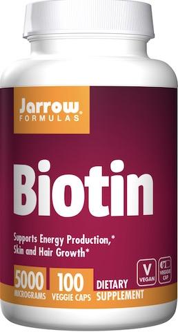 Image of Biotin 5 mg (5000 mcg)