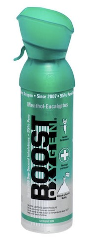 Image of Boost Oxygen Can Menthol Eucalyptus Medium