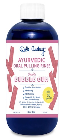 Image of Ayurvedic Oral Pulling Rinse Bubble gum