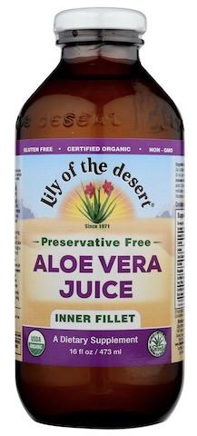 Image of Aloe Vera Juice (Inner Fillet) Preservative Free
