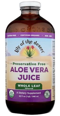 Image of Aloe Vera Juice (Whole Leaf) Preservative Free