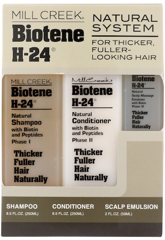 Image of Biotene H-24 Tri-Pack for Thicker Hair