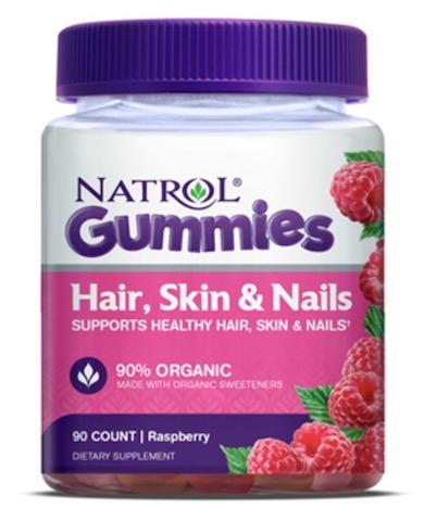 Image of Hair, Skin & Nails Gummies Raspberry