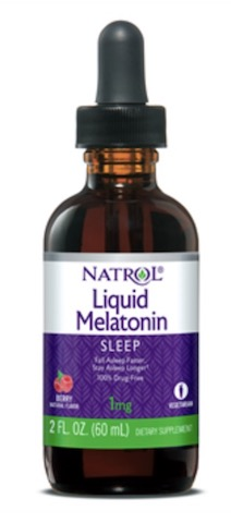 Image of Melatonin 1 mg Liquid Berry