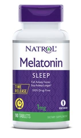 Image of Melatonin 1 mg Time Release